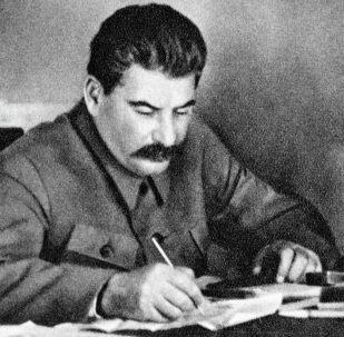 Иосиф Сталин. Архивдик сүрөт