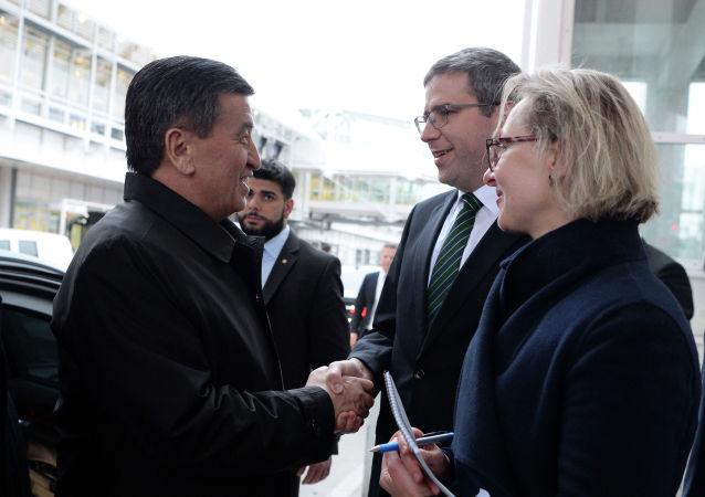 Кыргызстандын президенти Сооронбай Жээнбеков Германияга болгон эки күндүк иш сапарында