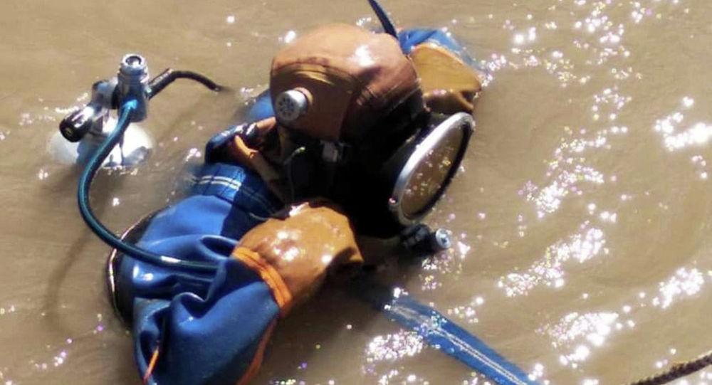 Аламүдүн районундагы Константиновка айылында дарыяга чөгүп кеткен 5 жашар баланы издөө иштери