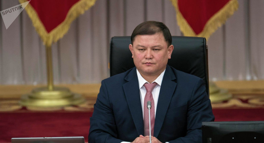 Жогорку Кеңештин төрагасы Дастан Жумабеков