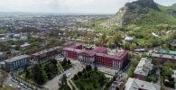 Ош шаары жана Сулайман-Тоо. Архивдик сүрөт