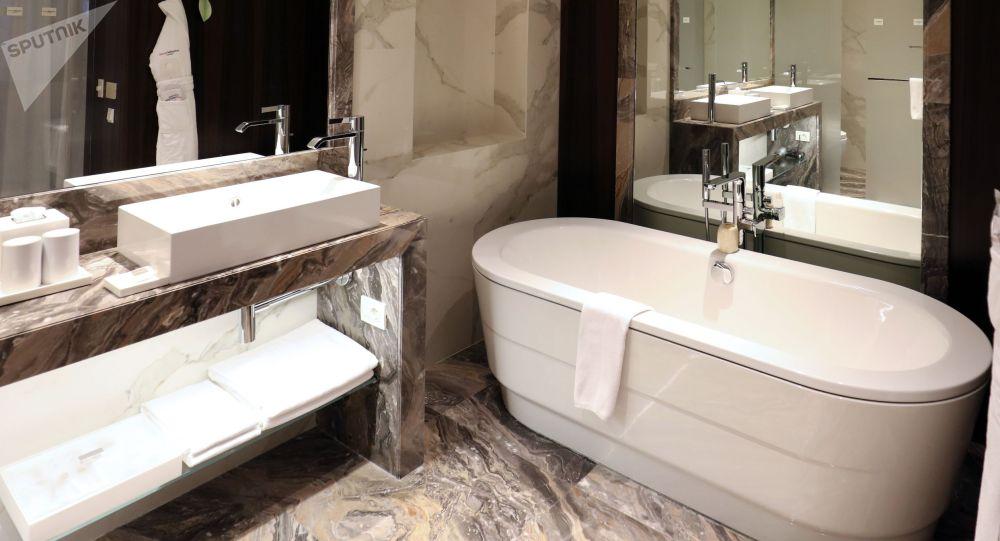 Ванная комната. Архивное фото