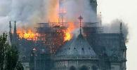 LIVE Пожар в Нотр-Даме