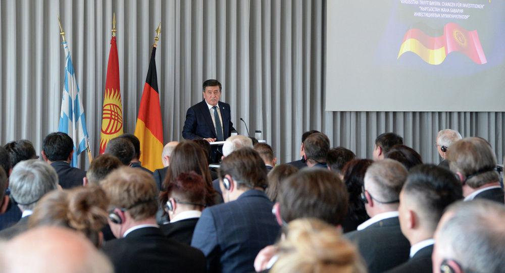 Президент Сооронбай Жээнбеков Германиядагы расмий сапары учурунда