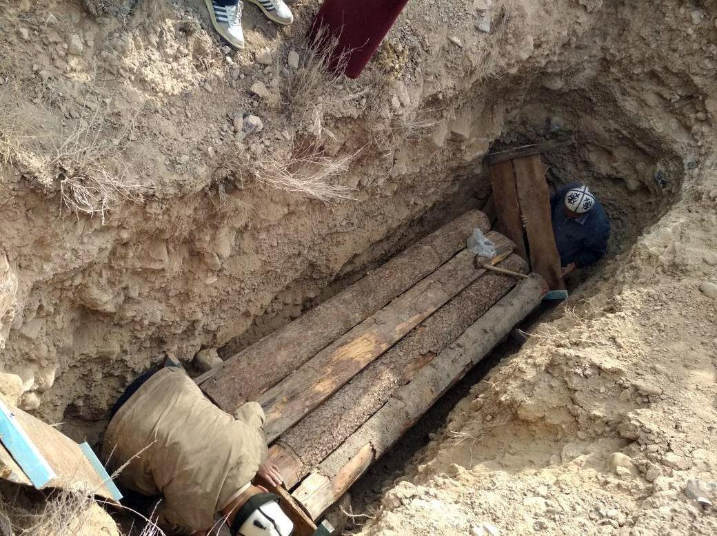 Мумию женщины из Государственного исторического музея захоронили в Баткенской области