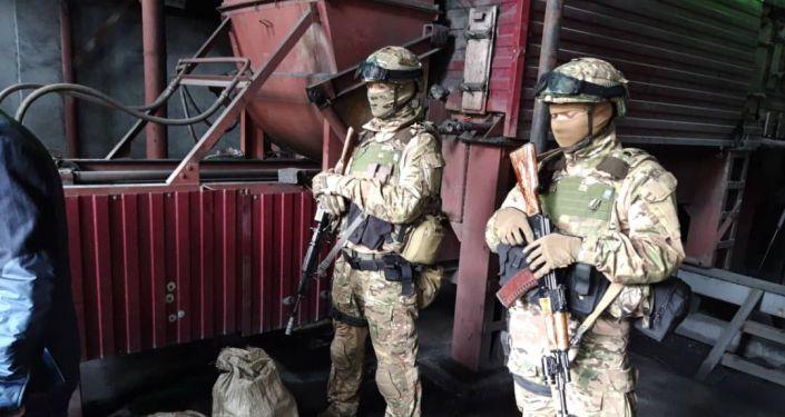 Госкомитет национальной безопасности сжег 81 килограмм наркотиков