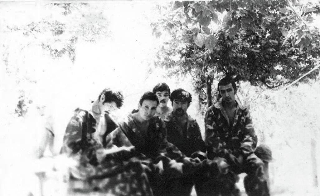 Этот снимок сделан в Панджшерском ущелье в 1982 году