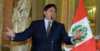Перунун экс-президенти Алан Гарсия. Архив
