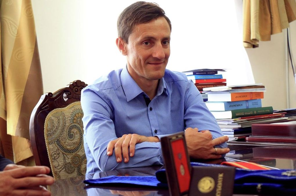 Кыргызстанский велогонщик Евгений Ваккер