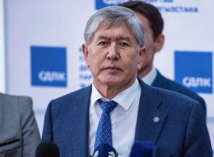 Экс-президент КР Алмазбек Атамбаев. Архивное фото