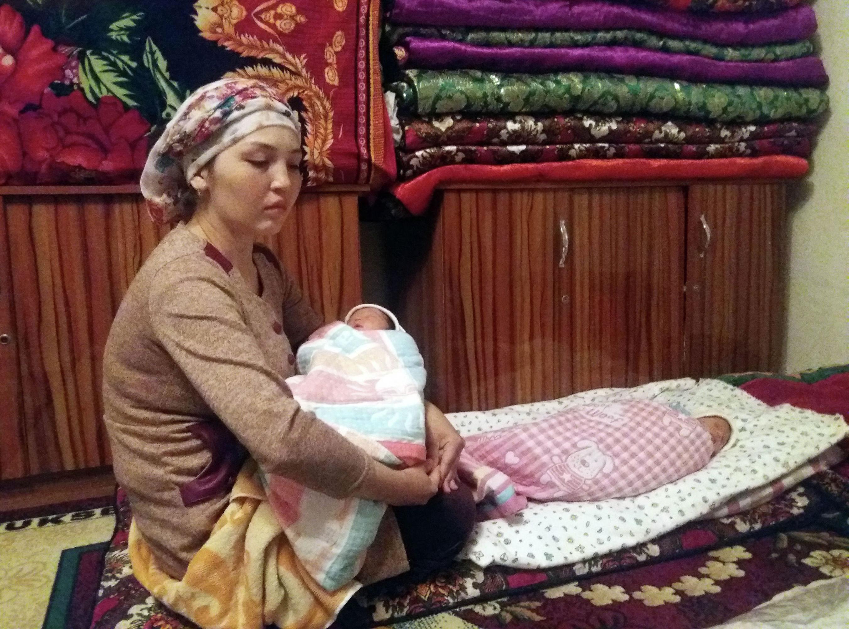 24-летняя Гульзина Абдимажитова