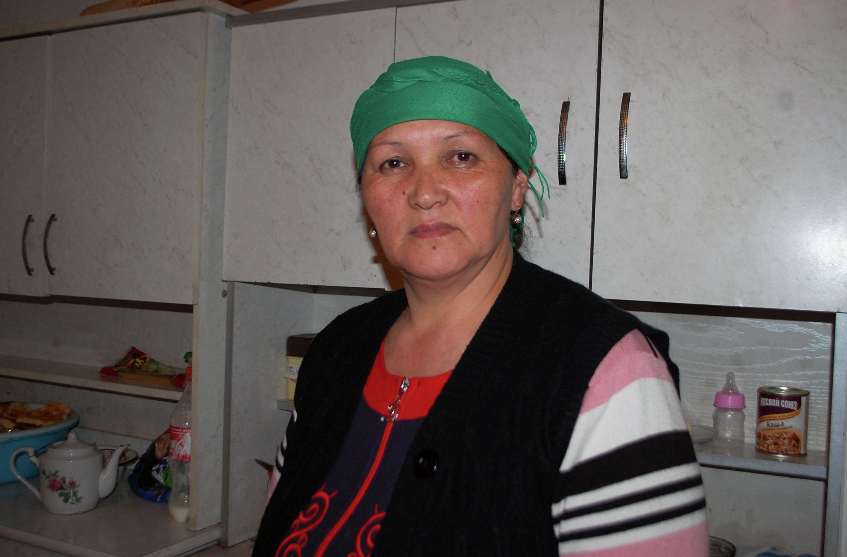 Теща 24-летней Гульзины Абдимажитовой Динара Мамытова