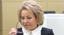 Председатель Межпарламентской ассамблеи СНГ Валентина Матвиенко. Архивное фото