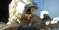 Космонавты. Архивное фото