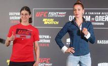 Антонина Шевченко Петербургда UFC Fight Night турниринде Роксанн Модаффери менен бүгүн беттешмекчи.