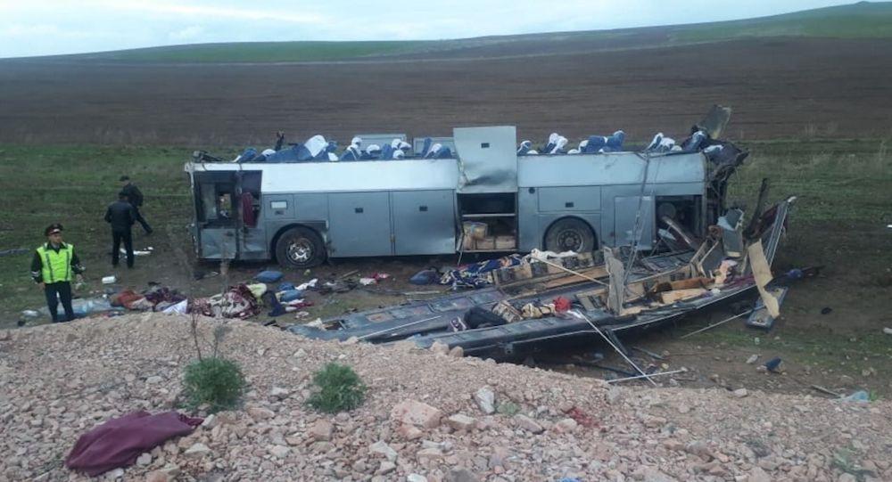 Жертвами страшной аварии в Кордайском районе Казахстана стали 8 казахстанцев и трое граждан Узбекистана