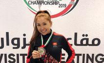 Отечественная спортсменка Малика Боотаева завоевала серебряную медаль на Чемпионате мира по джиу-джитсу