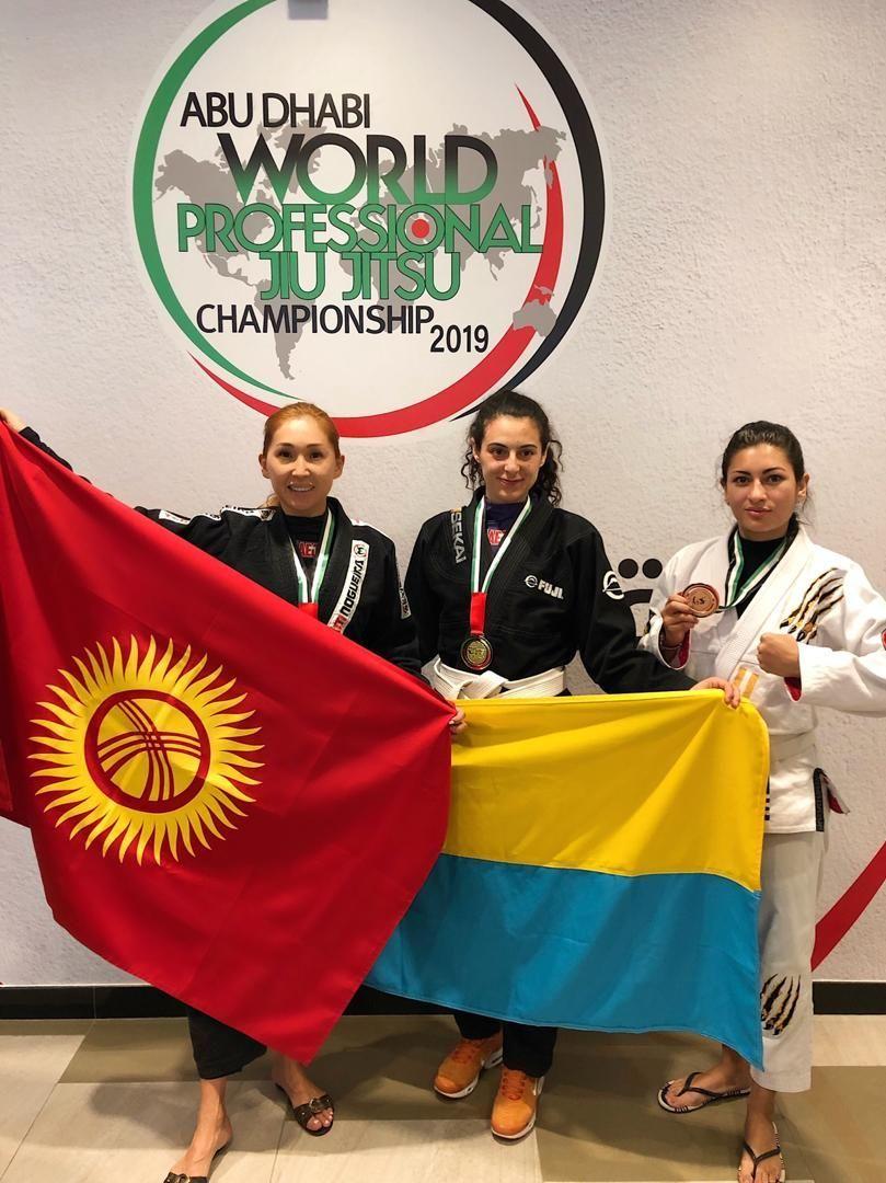 Двухкратная обладательница серебряной медали ЧМ по джиу-джитсу Малика Боотаева после соревнования
