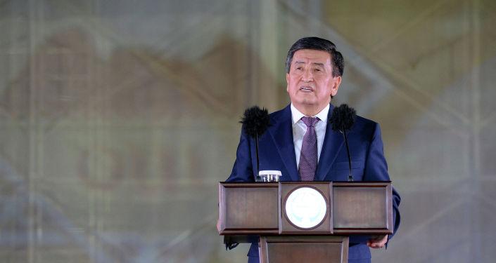 Президент Кыргызской Республики Сооронбай Жээнбеков принял участие в открытии торжественной церемонии Ош — культурный центр Тюркского мира