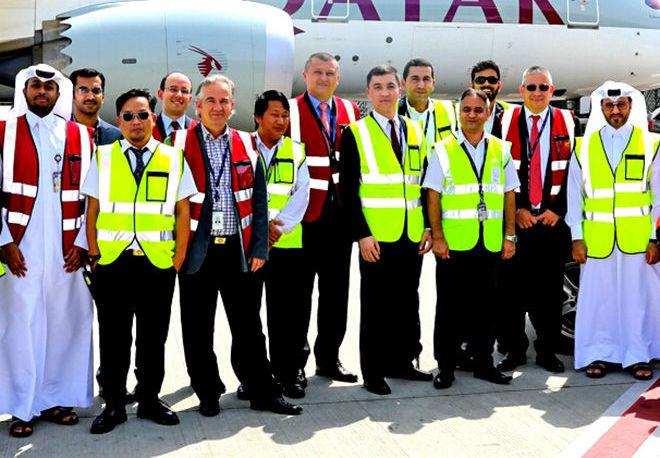 Сотрудник международного аэропорта в Катаре, кыргызстанец Дастанбек Айдаралиев