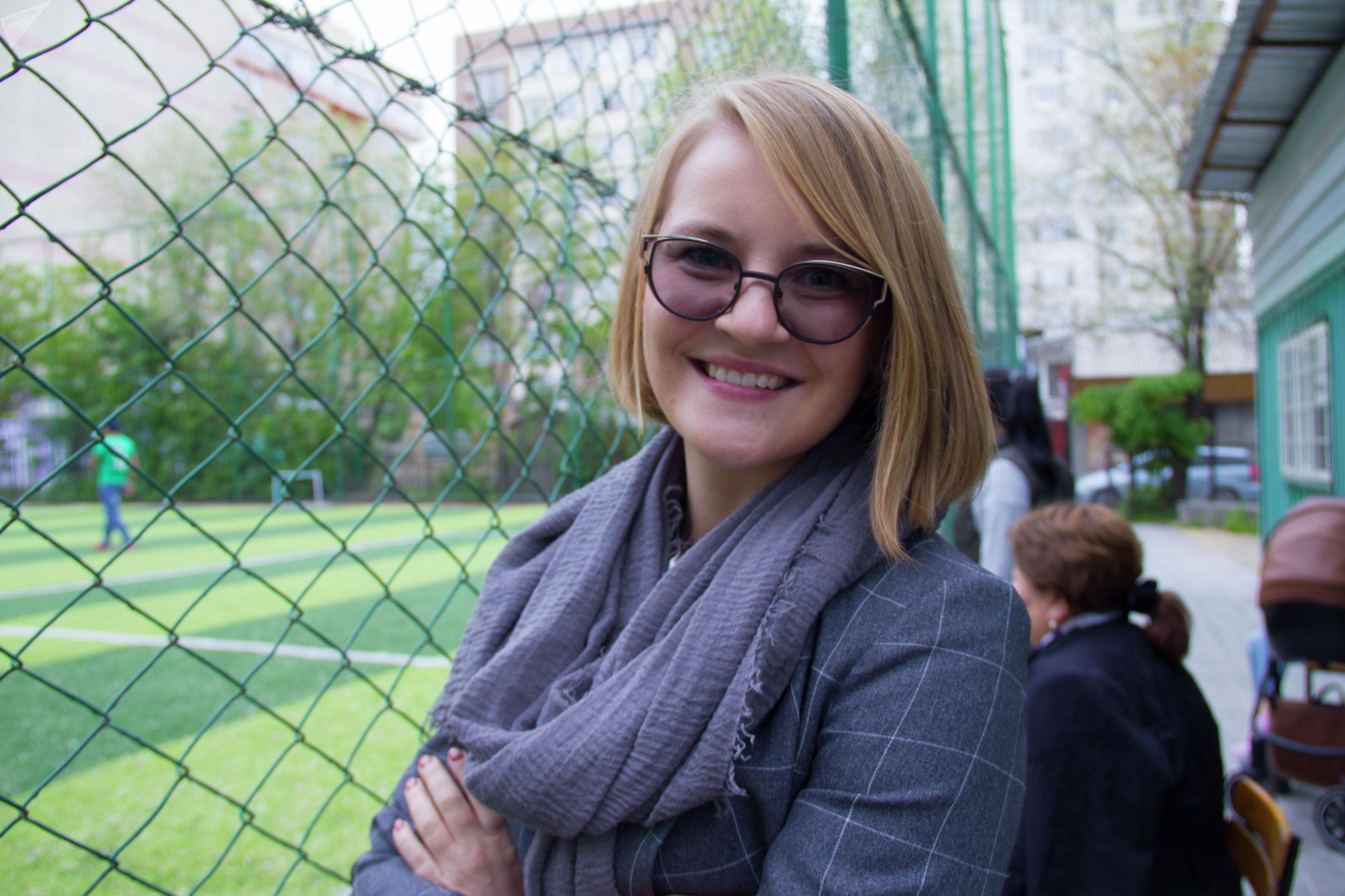 Представитель оргкомитета Всемирных детских игр победителей Лидия Жукова  на отборочном этапе Всемирных детских игр победителей
