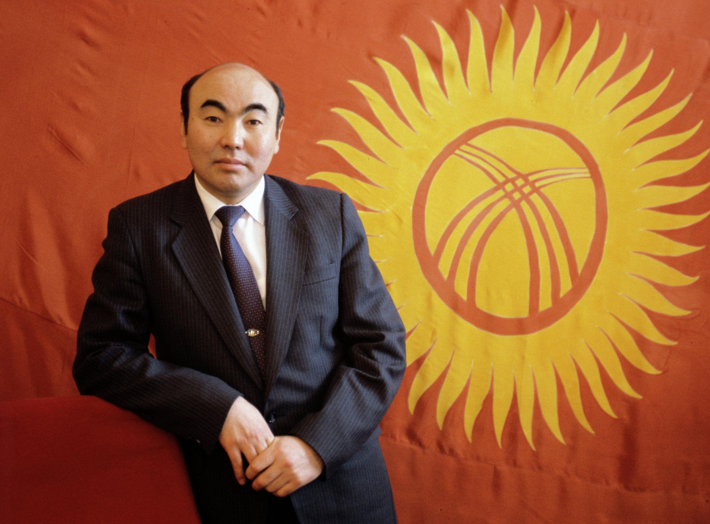 Президент Кыргызстана Аскар Акаев