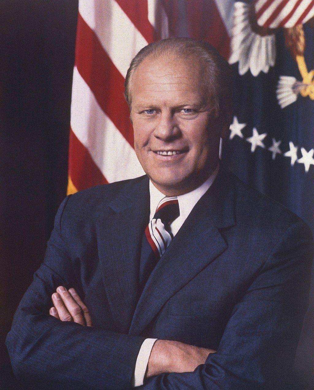 38-й президент США, с 1974 по 1977 годы от Республиканской партии Джеральд Форд