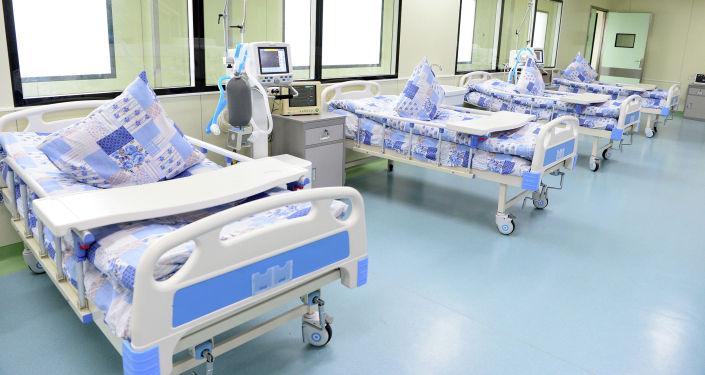 Койки для пациентов в Ошской городской клинической больнице