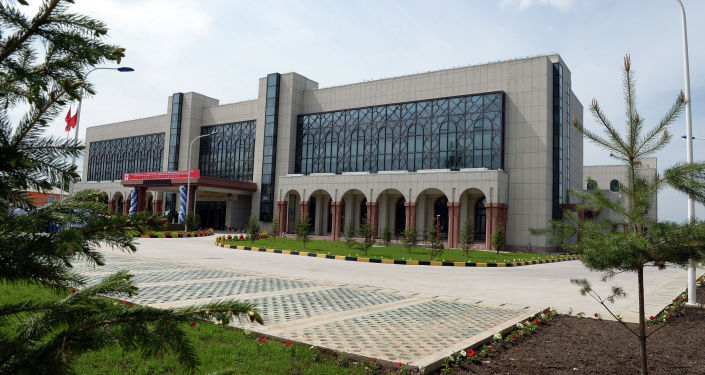 Церемония открытия Ошской городской клинической больницы