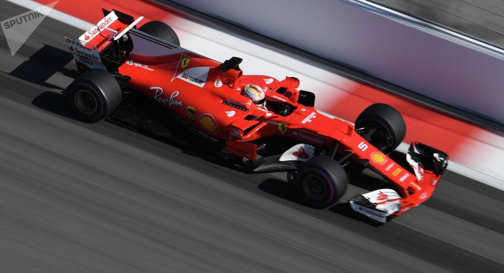 Автогонка Формула-1. Архивное фото