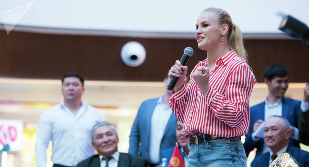 Чемпионка UFC из Кыргызстана Валентина Шевченко. Архивное фото