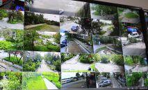 На территории 6-го микрорайона в Бишкеке запущен проект Безопасный микрорайон