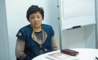 Бишкек шаарынын тургуну Нурила Курманбекова. Архивдик сүрөт