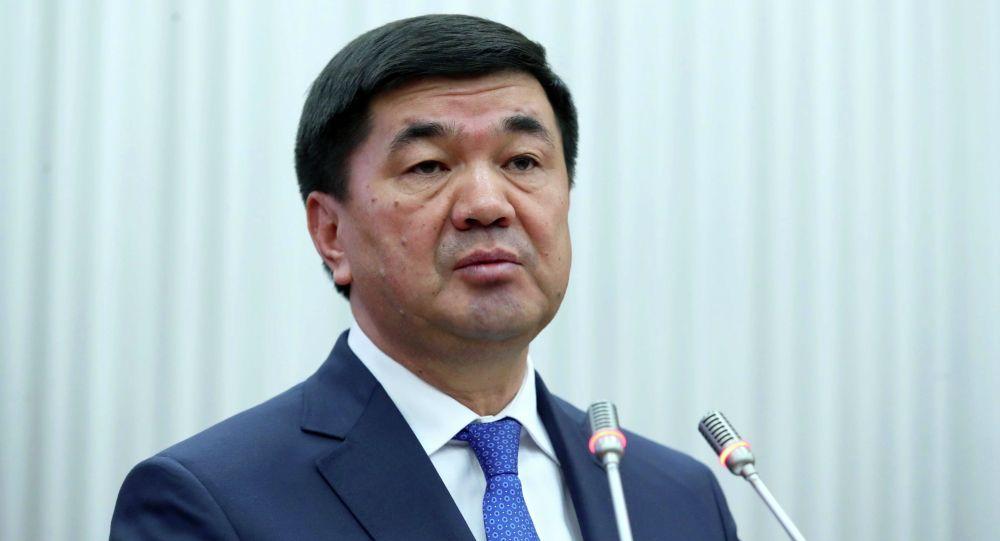 Премьер Мухаммедкалый Абылгазиев Жогорку Кеңеште айтты.