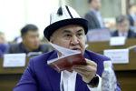 Депутат Жогорку Кенеша, лидер фракции Бир Бол Алтынбек Сулайманов. Архивное фото