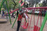 Детские площадки на бульваре Эркиндик не будут демонтировать