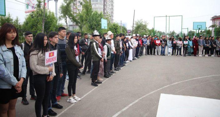 В Оше начался первый открытый чемпионат республики по новой национальной игре в альчики — айкуру