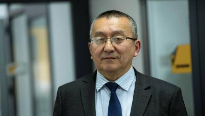 Экономика министрлигинин салык саясаты башкармалыгынын башчысы Кубан Айдаралиев