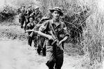 Британиянын аскерлери Бирма жунглисинде. 1945-жылы