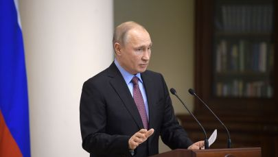 Россиянын лидери Владимир Путин. Архив