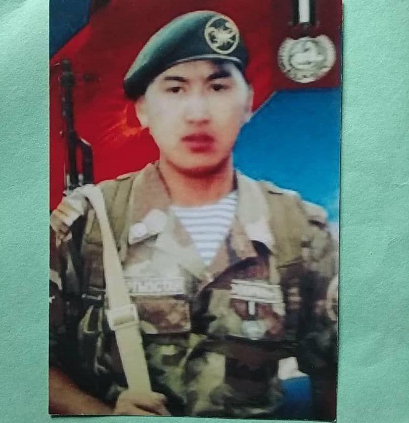Погибший при Баткенских событиях солдат Мукамбет уулу Улан