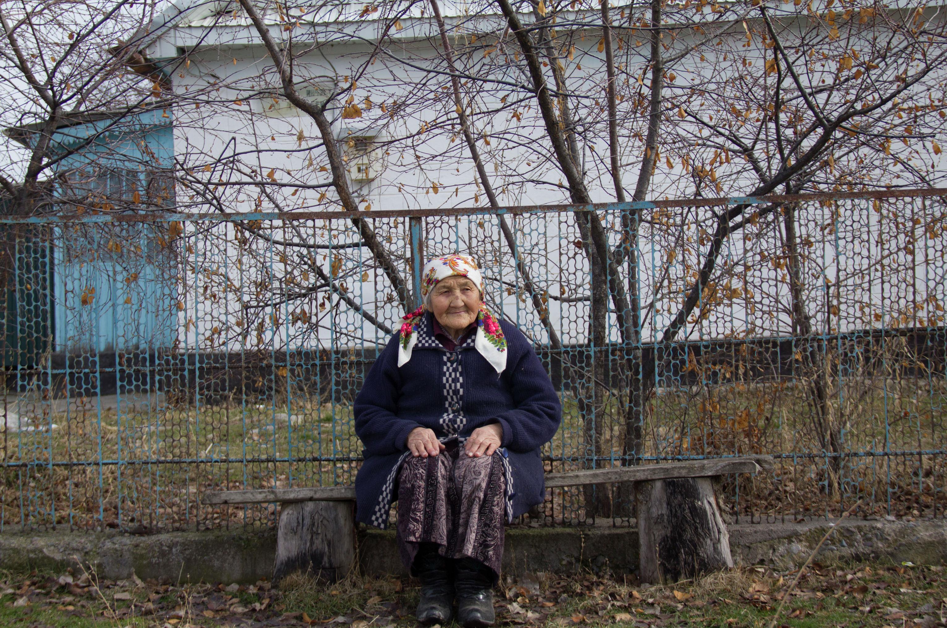 Мать погибшего солдата при Баткенских событиях Умут Осмонова