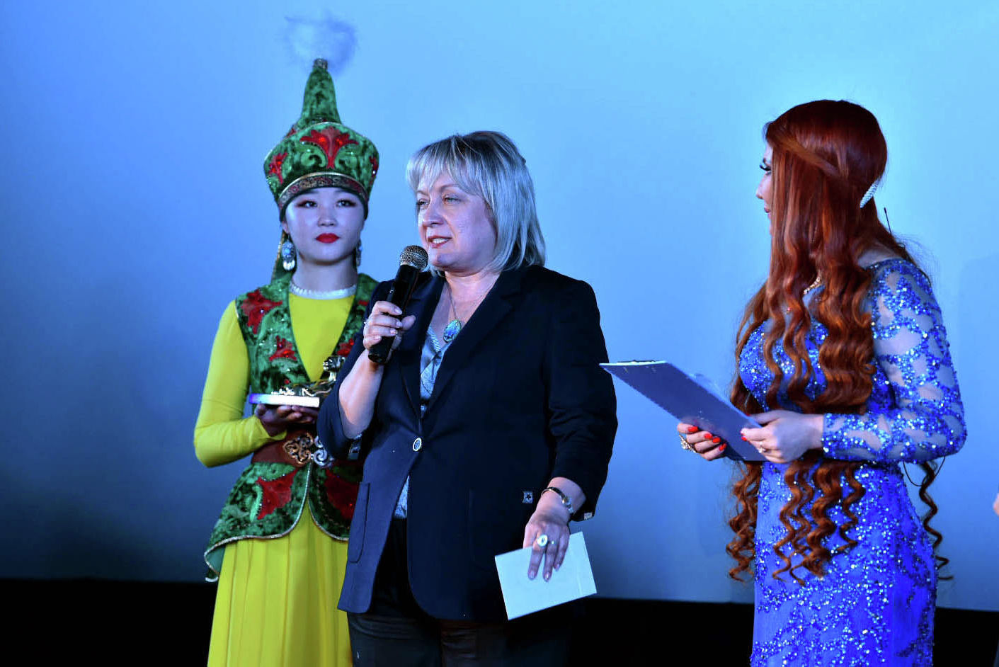 Руководитель информационного агентства и радио Sputnik Кыргызстан Елена Череменина