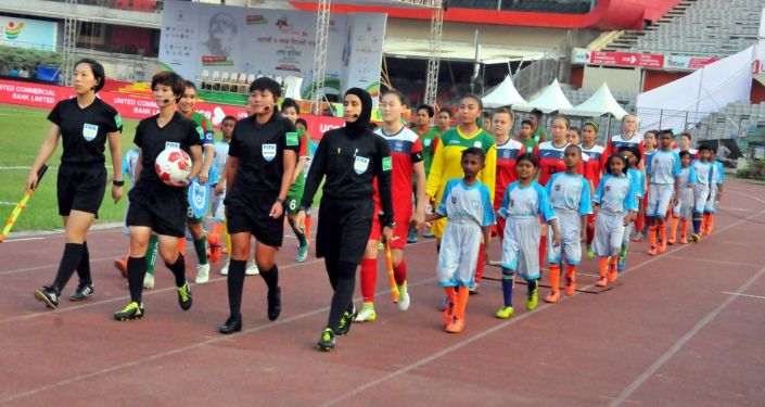 Bangamata U-19 Womens International Gold Cup 2019. Кыргызстан — Бангладеш
