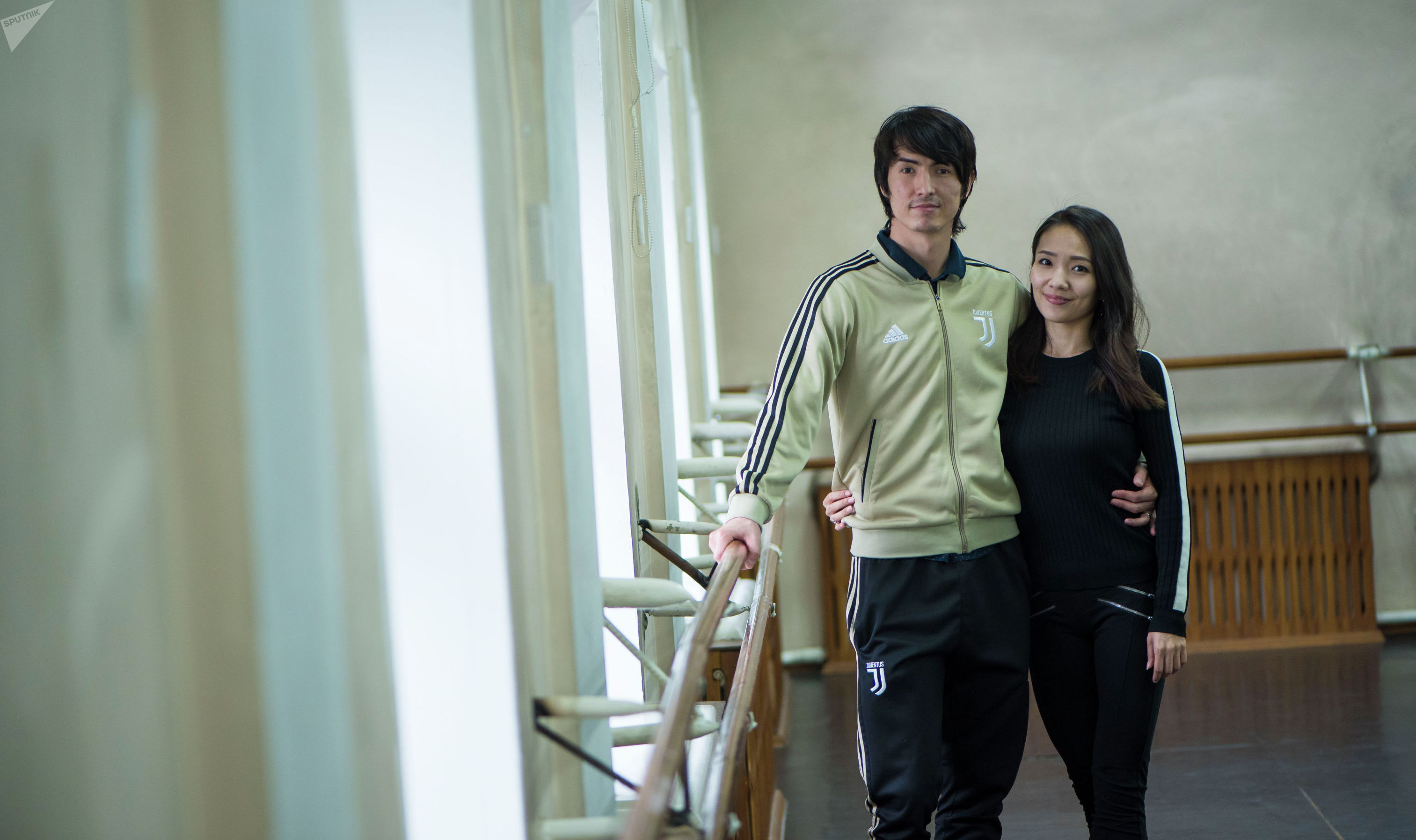 Кыргызстанец Атабек Садыркулов и японка Мэгуми Мацумото