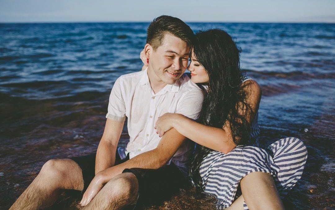 Супруги Мурас Кадыркулов и Ксения Богатова