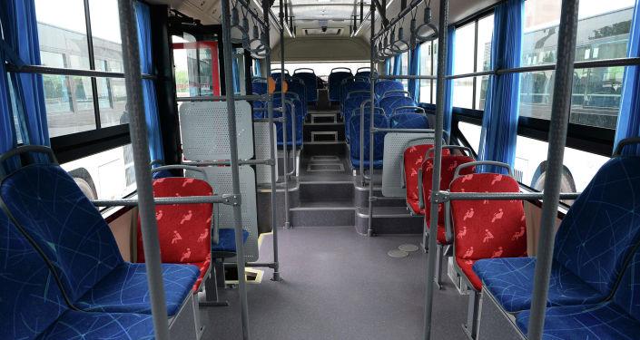 Новые автобусы из Китая для мэрии Бишкека. Архивное фото