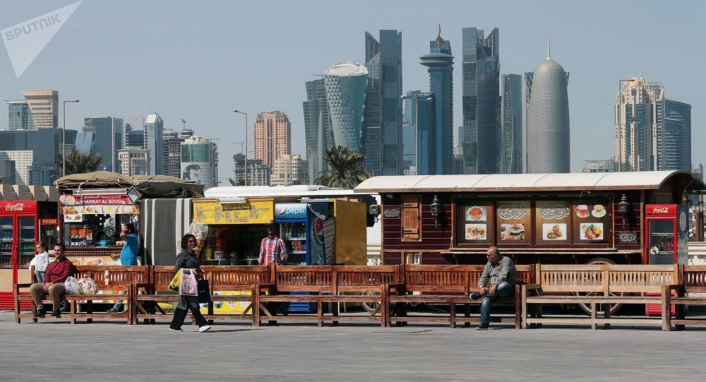 Доха шаары. Архивдик сүрөт
