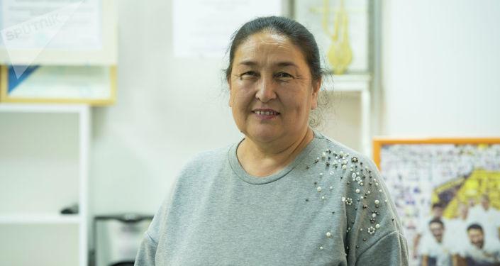 Айыл чарба тармагындагы эксперт Дария Тогузбаева. Архивное фото