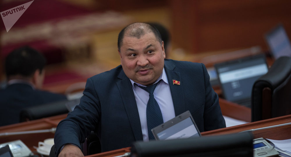 Жогорку Кеңештин депутаты Кожобек Рыспаев. Архив
